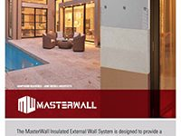 Masterwall brochure from Peninsula Render Supplies
